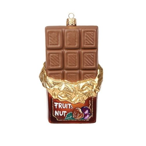 Fruit and Nut Chocolate Christmas Ornament